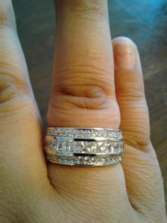 New CZ 925 Sterling Silver Ring (9)