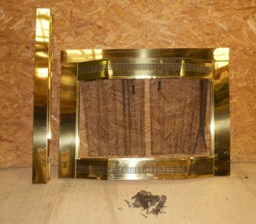 Brass Fire Place Front