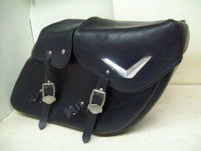 Find Nice Used Saddle Bags for a Harley Davidson... Road King... Hard Leather motorcycle in Kansas City, Missouri, US, for US $349.95