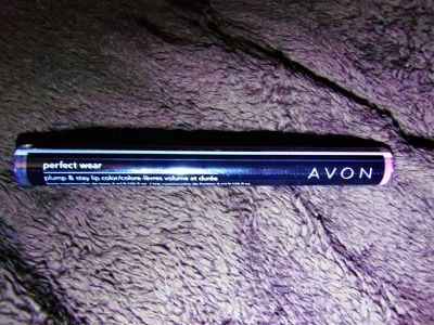 new sealed avon perfect wear plum & stay lip color