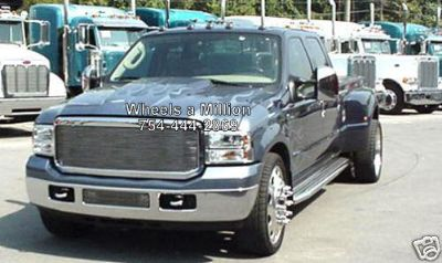 Purchase 24 DUALLY PETERBILT ALCOA WHEELS SEMI FORD DODGE CHEVY RIMS motorcycle in Pompano Beach, Florida, US, for US $1,799.00