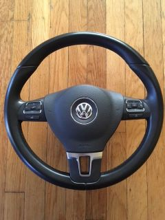 FS: OEM Leather Steering Wheel With Airbag