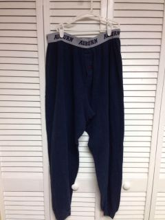 Auburn Lounge Pants. Size L. Worn. Pick up at Target in McCalla on Thursdays 5:15 to 6:00pm.