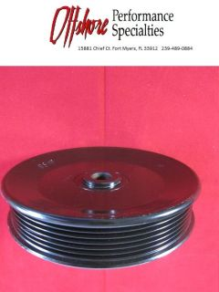 Purchase MerCruiser Sea Water Pump Serpentine Pulley 862351T - New motorcycle in Fort Myers, Florida, US, for US $55.00