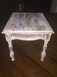 Antique looking side table