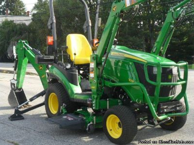 You NEED to see this Compact Tractor 2014 John Deere 1025R