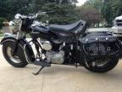 1950 Indian 80 inch Chief Black