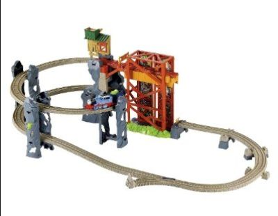 "Thomas & Friends ""At The Abandoned Mine"" Train Set OBO (USED)"