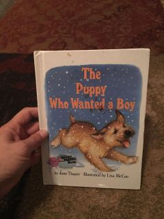The puppy who wanted a boy - ppu (near old chemstrand & 29) or PU @ the Marcus Pointe Thrift Store (on W st)