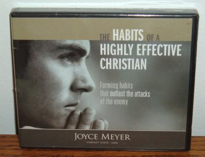 NEW The Habits of Highly Effective Christian AudioBook CD 4 Disc Set Joyce Meyer