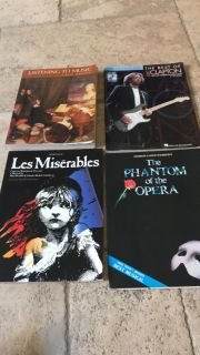 Sheet Music for piano, guitar, vocals and music book