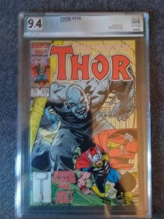 The Mighty Thor #376 PGX graded