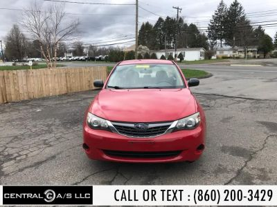 2008 Subaru Impreza 2.5i (Red)