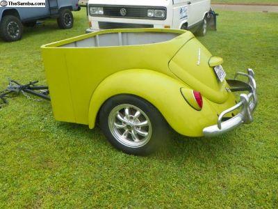 VW Beetle Trailer, Rear Section