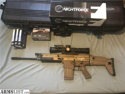For Sale: New Scar 17S, never used with Nightforce 4-16x42 F1 rife scope