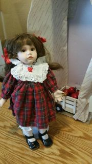 Porceline Apple Dumpling Girl Doll