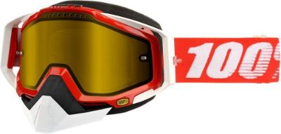 Purchase 100% Racecraft Snow Goggles Red w/Yellow Lens 50103-003-02 motorcycle in Lee's Summit, Missouri, United States, for US $69.95