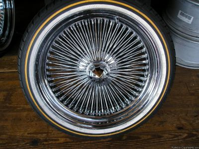 4 20 inch wire WHEELS AND TIRES atlanta (with shipping available