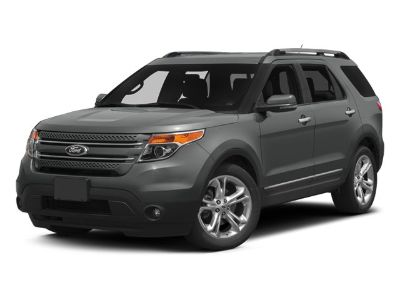 2014 Ford Explorer Limited (White Platinum Metallic Tri-Coat)