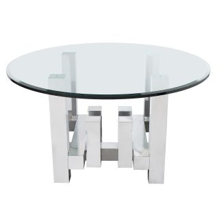 Paul Mayen Cityscape Aluminum Dining Table