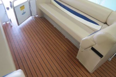 Sell pontoon marine vinyl flooring Teak 80 mill pontoon seating seats furniture New motorcycle in Larwill, Indiana, United States, for US $579.80