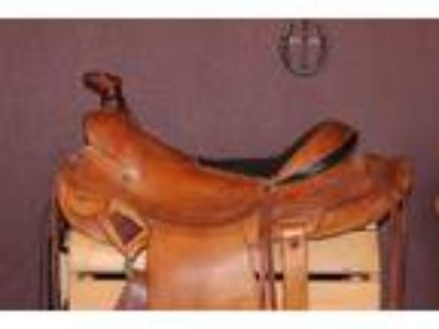 Jodi Goldsmith Saddlery Western Trail Saddle