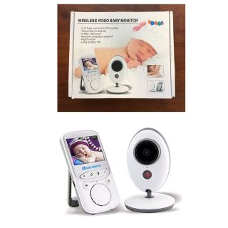 Eoncore 2.4 inch 2.4GHz Wireless Baby Monitor VB605 Infant Babysitter Digital Video Camera Audio.