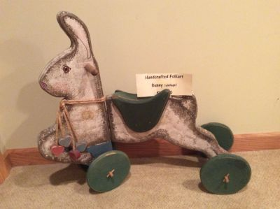 Folk Art Rabbit early 90s