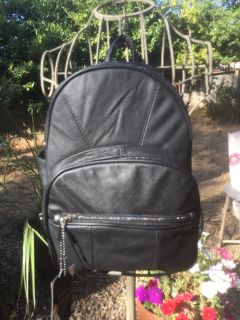 New Genuine Leather Backpack with Organizer