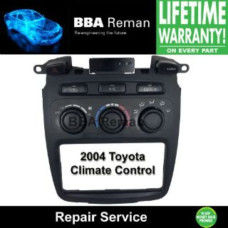 Buy 2004 Toyota Heater Climate Control Repair Service AC Heater Head 04 Highlander motorcycle in Taunton, Massachusetts, United States