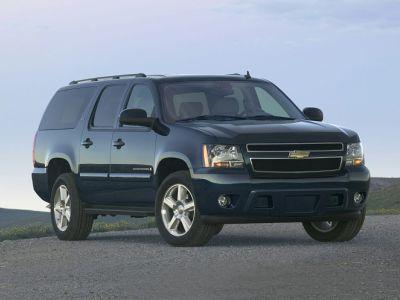 2008 Chevrolet Suburban LS 1500 (White)