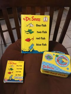DR SEUSS ONE FISH TWO FISH LOT