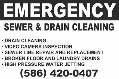 Drain Cleaning Special - MI Drain Cleaning