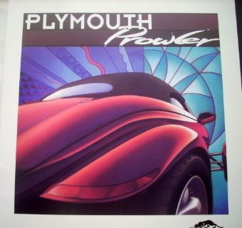 Purchase NOS Mopar 1997 Plymouth Prowler Press Kit W/ Envelope & Slides motorcycle in Holts Summit, Missouri, United States, for US $44.97