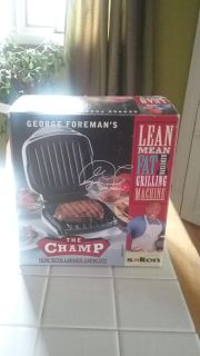 Great Christmas gift! New in box George Foreman grill!