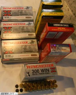 For Sale: .308 ammo