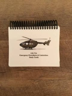 UH-72A Emergency Procedures and Limits Study Cards