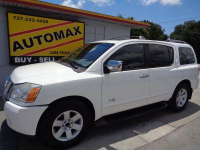 2006 Nissan Armada SE (White)
