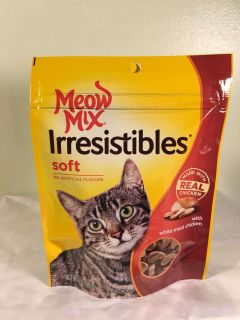 Meow mix irresistible s chicken cat treats