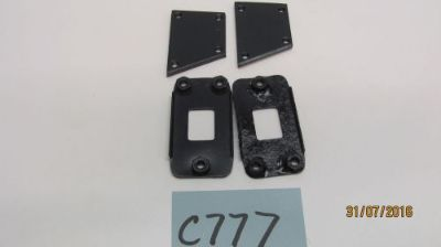 Purchase USED JAGUAR MKIV HINGE BACKING PLATES FOR RH & LH REAR DOORS C777 motorcycle in Apopka, Florida, United States, for US $48.00