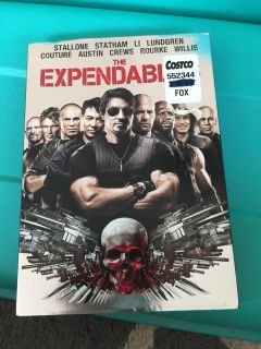 Expendable dvd
