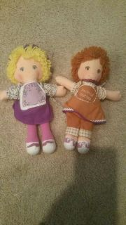 Peanut butter and jelly dolls, dated 1980, very good condition, vintage