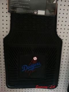 Buy Los Angeles Dodgers Heavy Duty 2-Piece Vinyl Car Mats motorcycle in Perris, California, US, for US $47.99