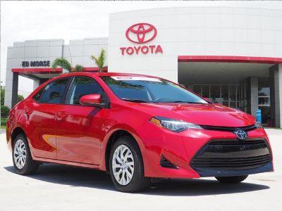 2018 Toyota Corolla L (red)