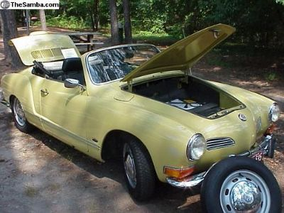 [WTB] WANTED! NOS VW parts for a 1970 Ghia