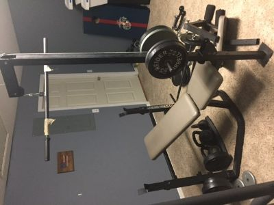 Weider work out bench Pro 340