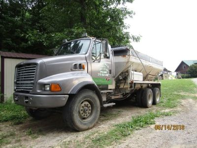 2000 Sterling Lime and Litter Spreader Truck for sale in Milwood, Kentucky.