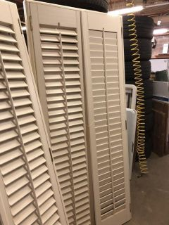 INDOOR SHUTTERS WITH FRAME