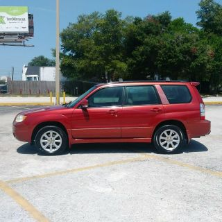 2006 Subaru Forester 2.5 X Premium Package (Red)