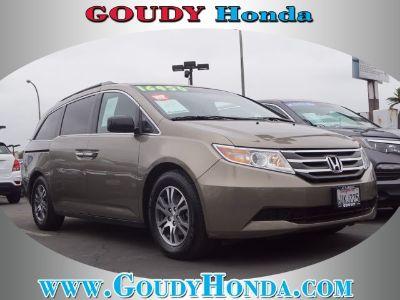 2012 Honda Odyssey EX-L w/DVD (Mocha Metallic)